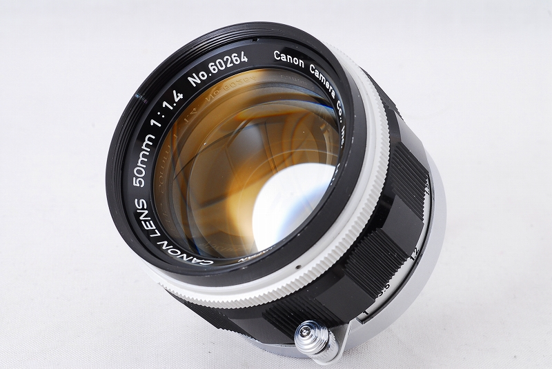 Canon Rangefinder 50mm F1.4 Lens