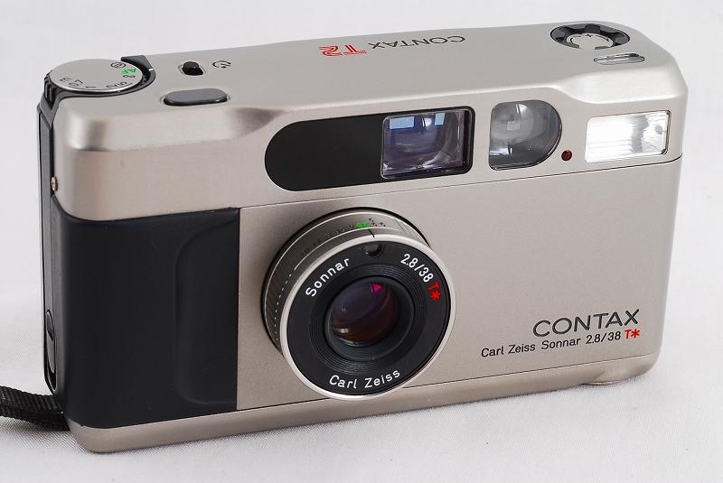 コンタックス Contax T2 Zeiss Sonnar 38mm F2.8 Lens