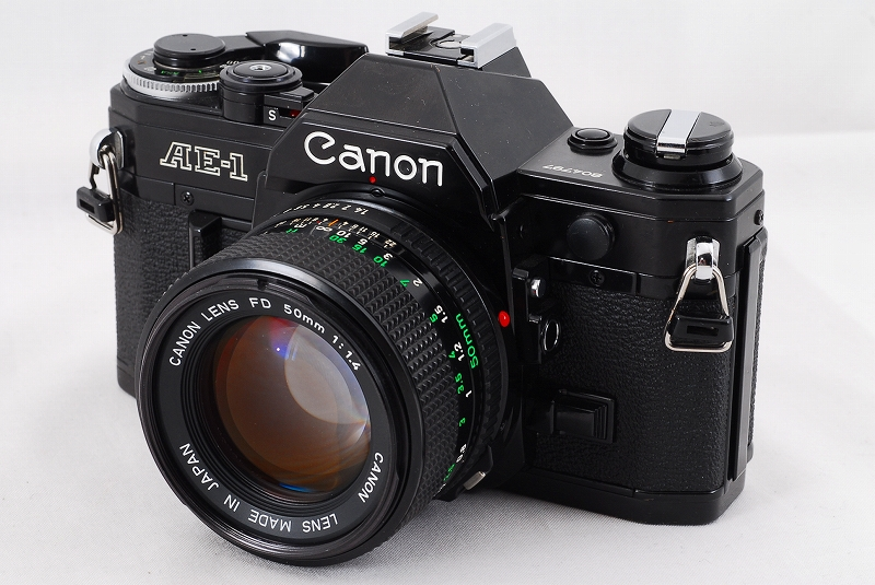 Canon AE-1 with FD 50mm F1.4 Lens