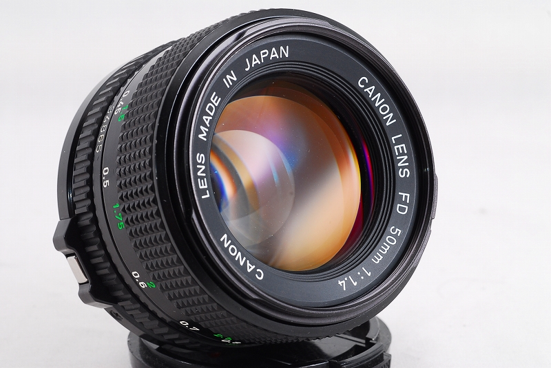 Canon New FD 50mm F1.4 Lens