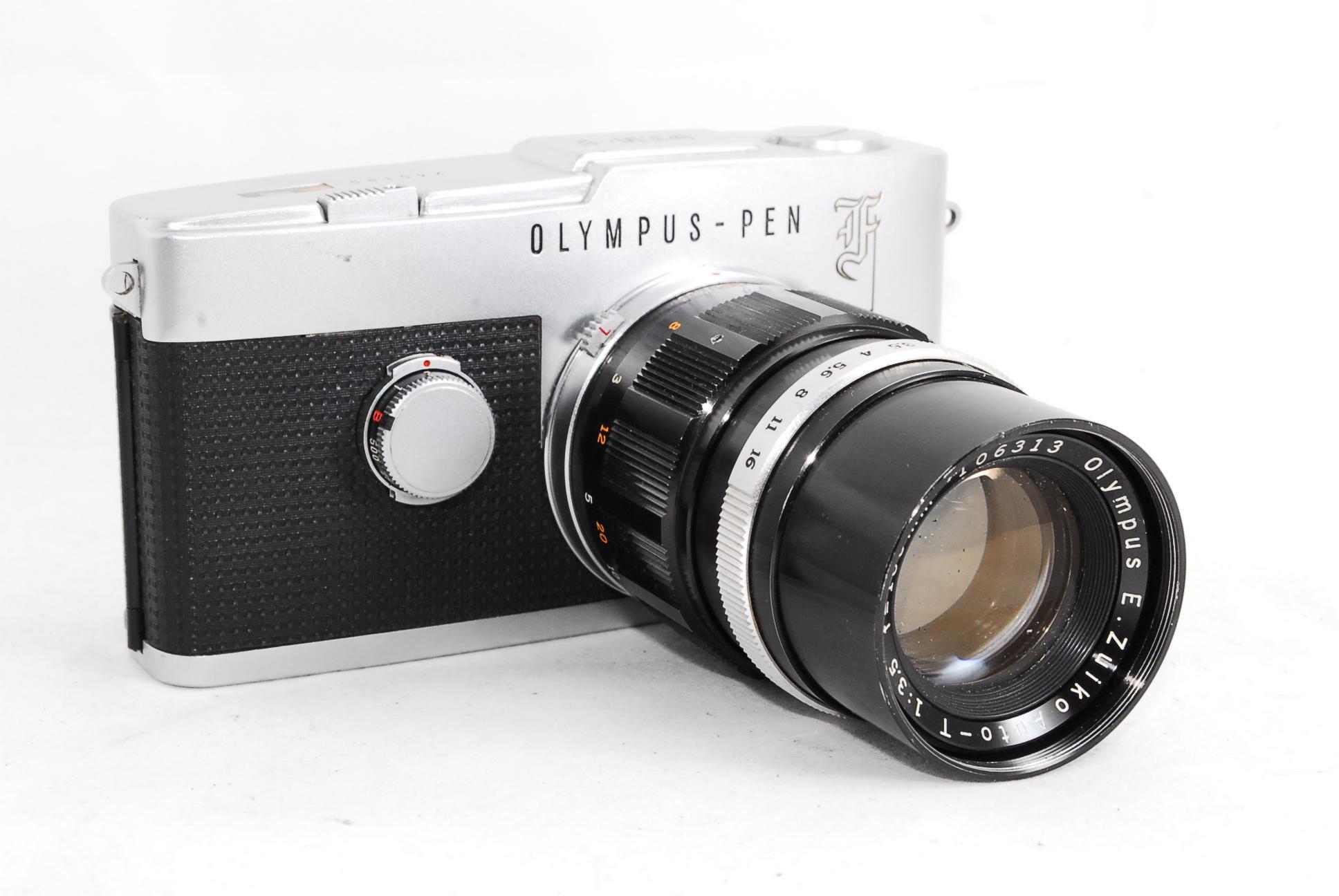 Olympus Pen F 100mm F3.5 Lens
