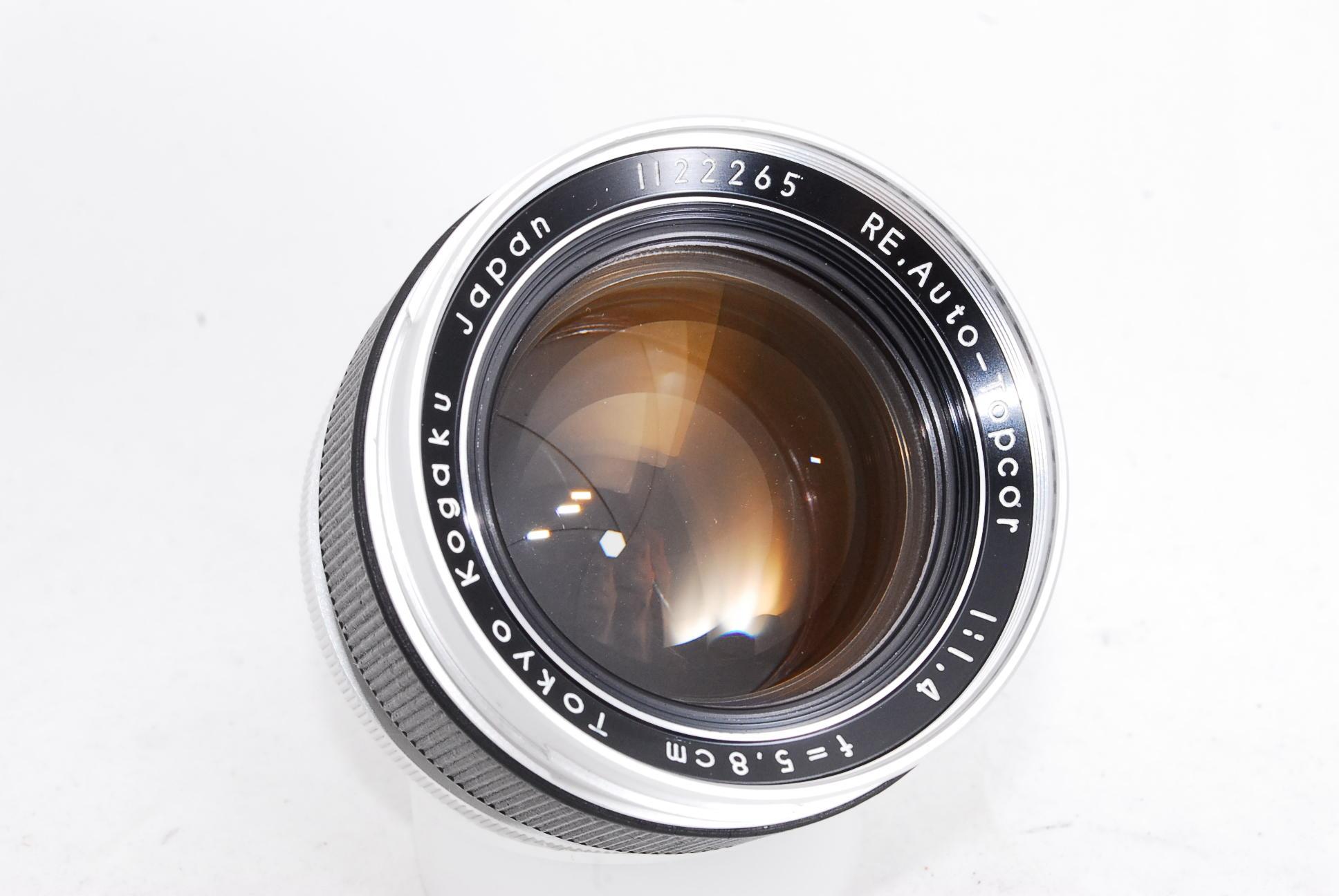 Topcon Tokyo Kogaku RE Auto Topcor 58mm F1.4 Lens