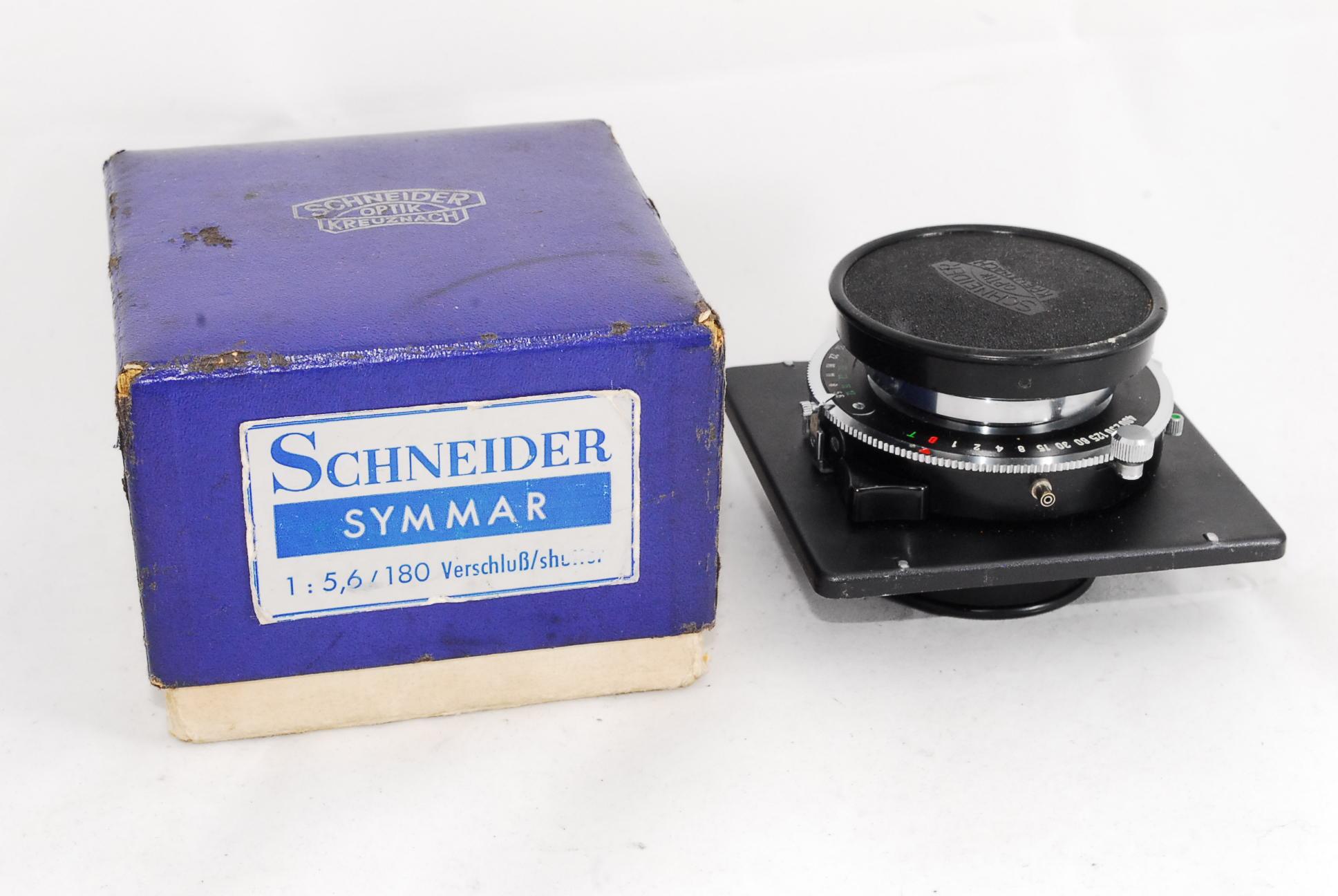 Schneider Symmar 180mm F5.6